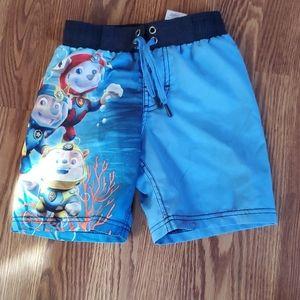 Nick Jr boys swim trunks 4/5
